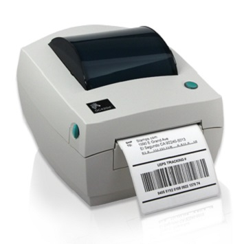 Parts barcode printer
